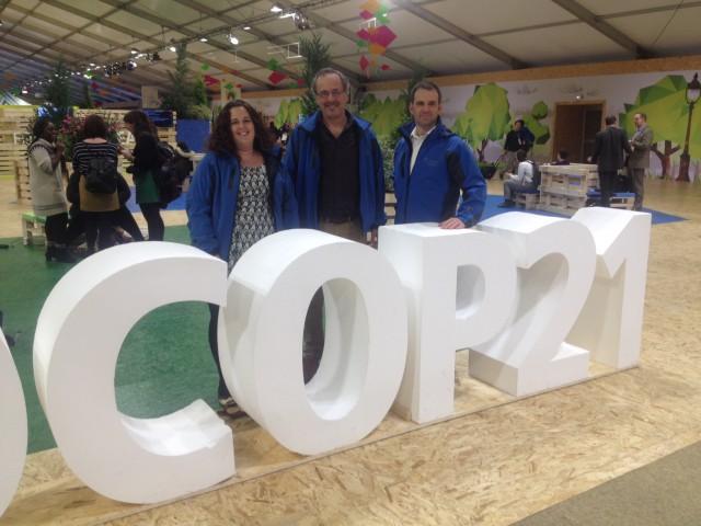 The CWF COP21 Delegation