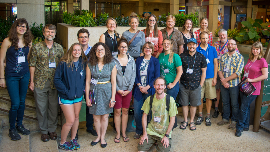 Canadian attendees of the conference. Taken by Jordi Segers.