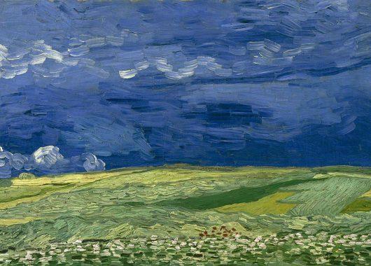 Wheatfield Under Thunderclouds, 1890, Van Gogh