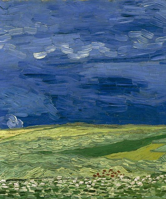 Wheatfield Under Thunderclouds, 1890, Van Gogh