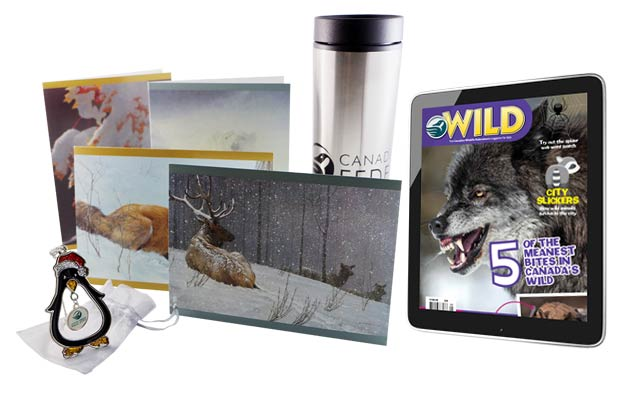 Canadian WIldlife Federation Holiday Bundle