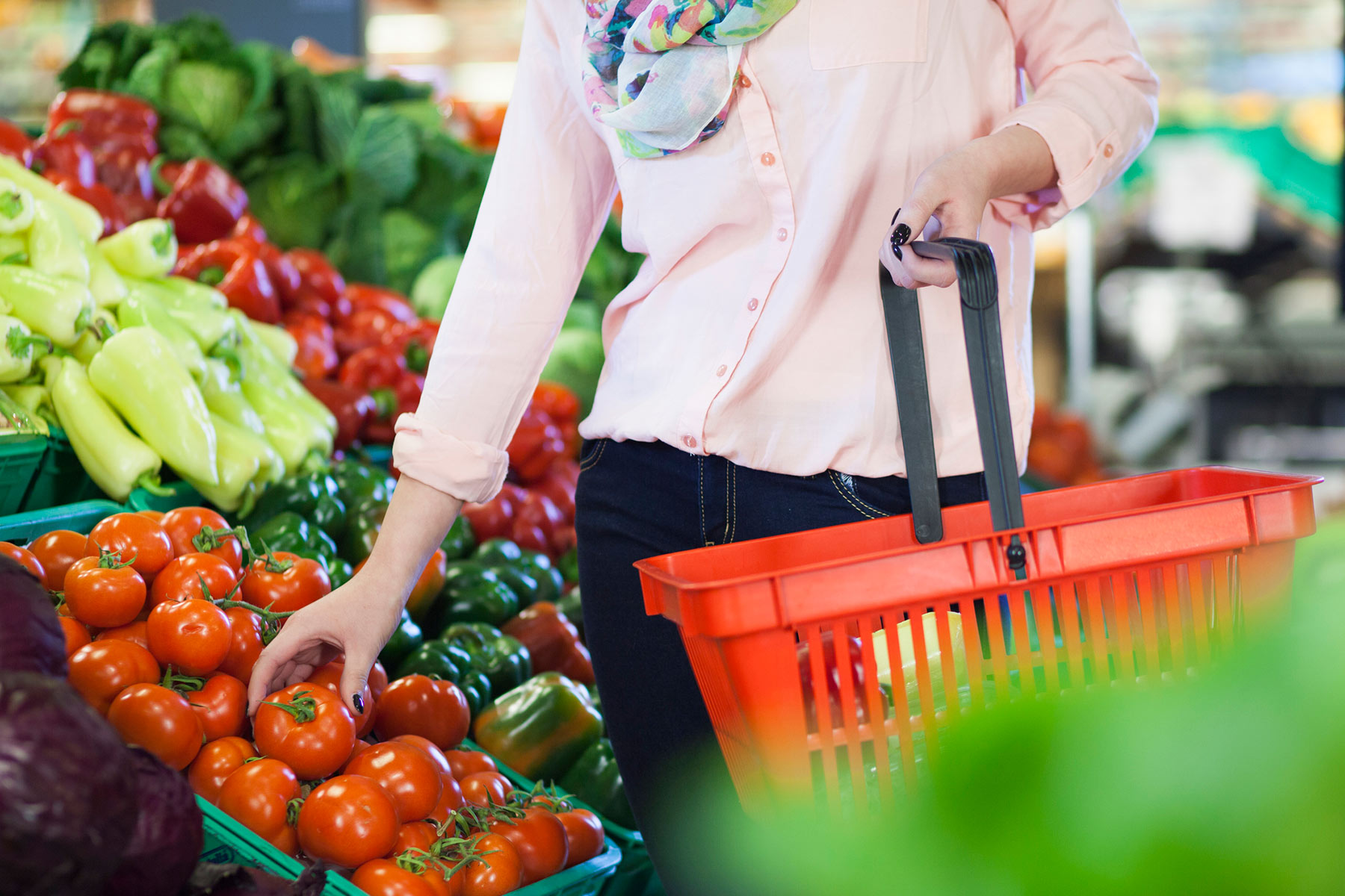 Make choices about the food they buy in order to support sustainable farming
