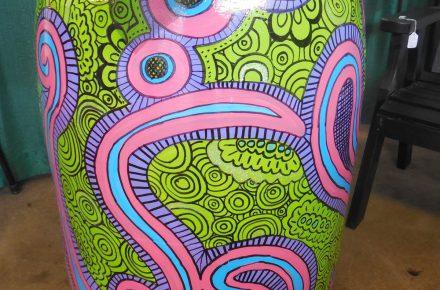 Citernes peintes