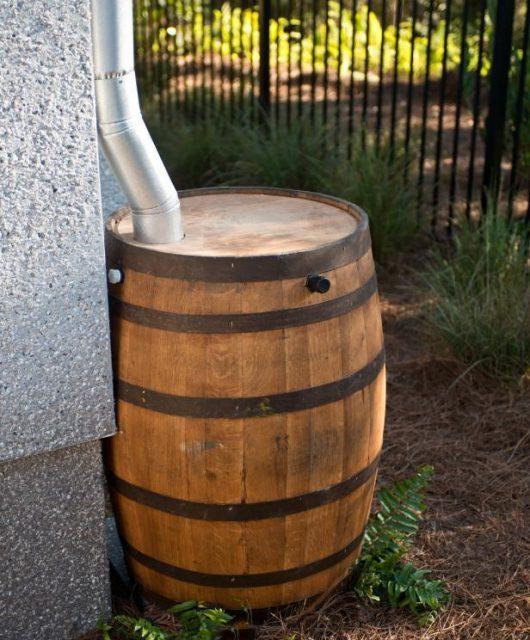 Rain barrel - vintage charm