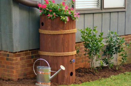 A Garden Pillar @ https://www.hgtv.com/outdoors/gardens/planting-and-maintenance/how-to-make-a-rain-barrel-pictures?soc=pinterest&crlt.pid=camp.nKmQA5zUpHLc