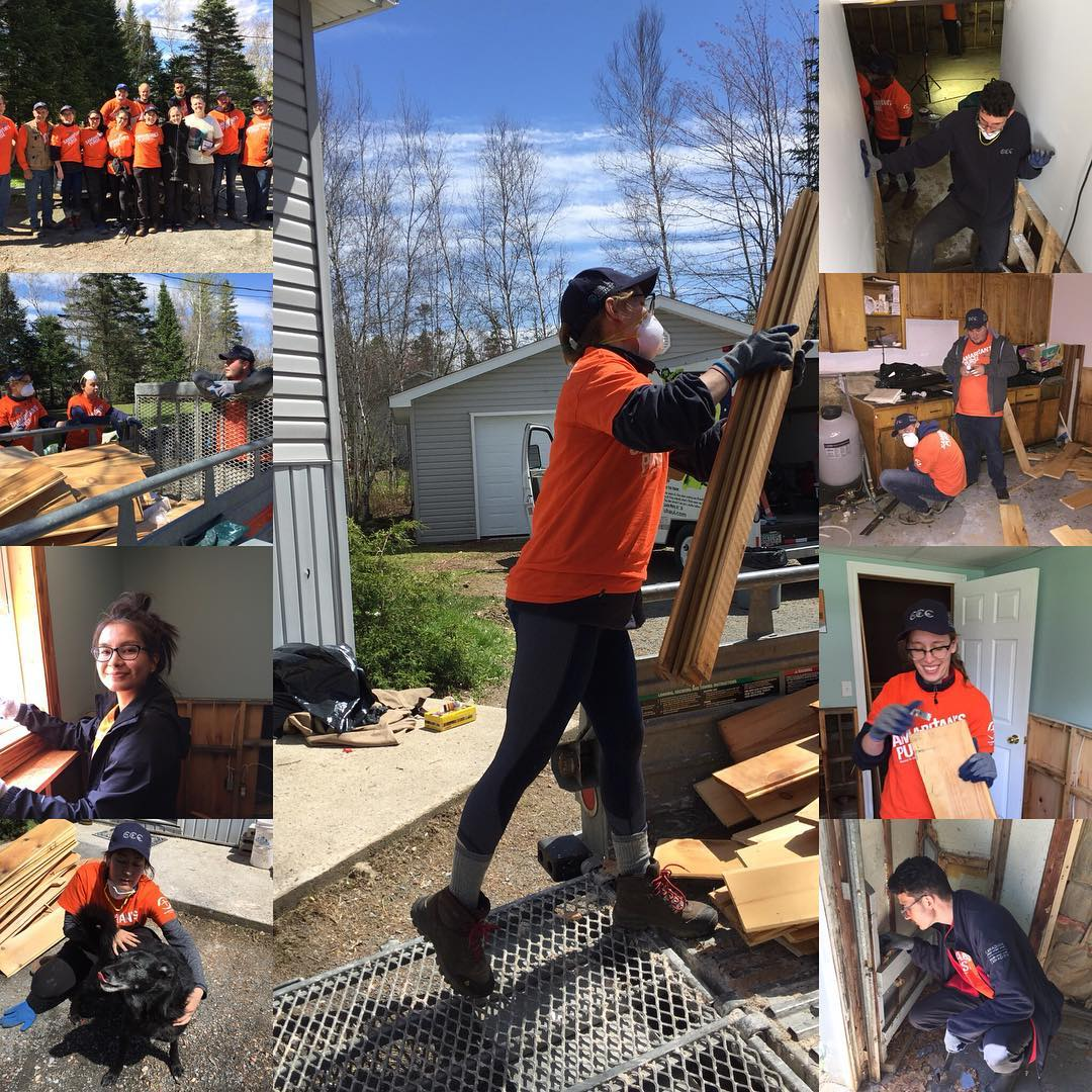 CCC group 2 participants volunteer New Brunswick flood vicitms