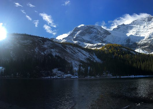 mountain lake Mount Galatea