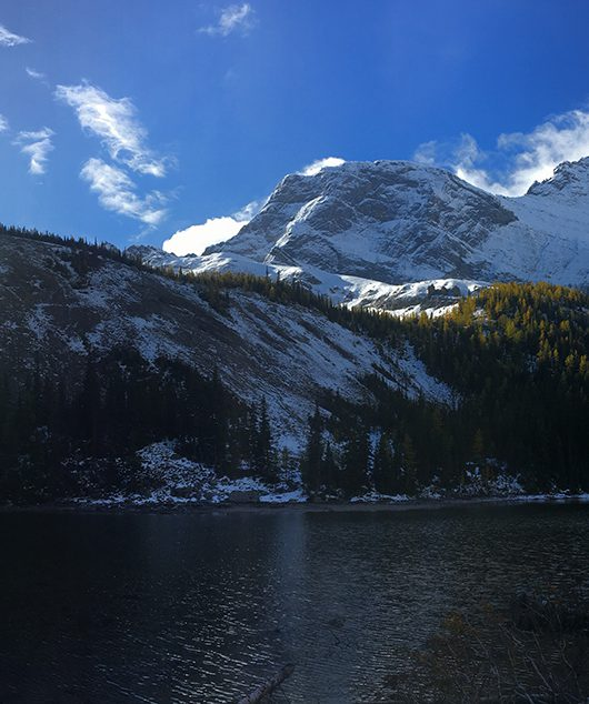 mountain lake Mount Galatea
