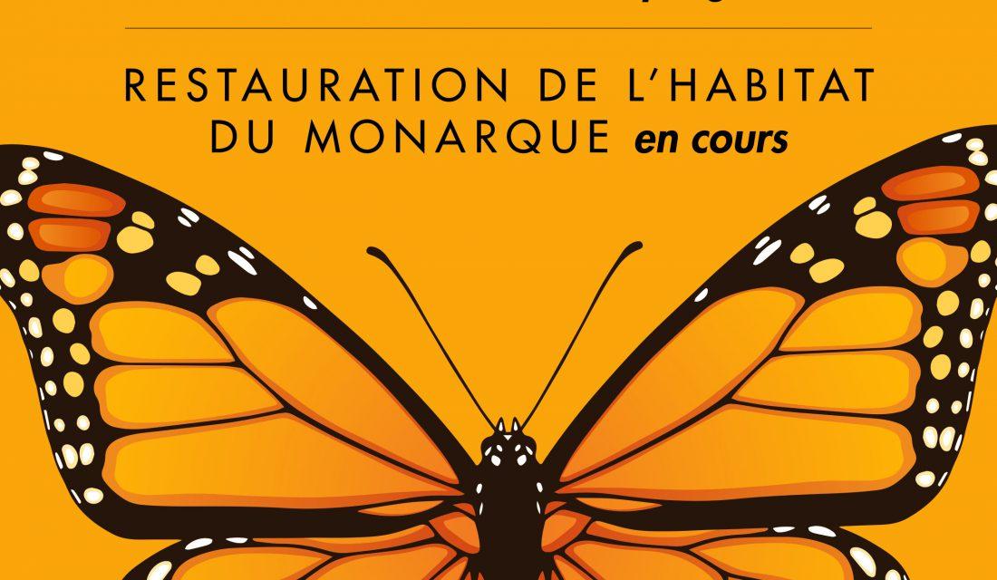 monarch restoration sign