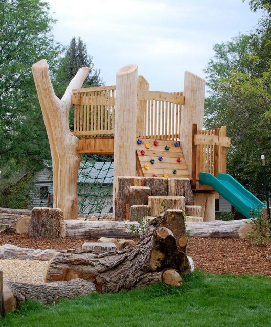 Natural playground @ Bienenstock