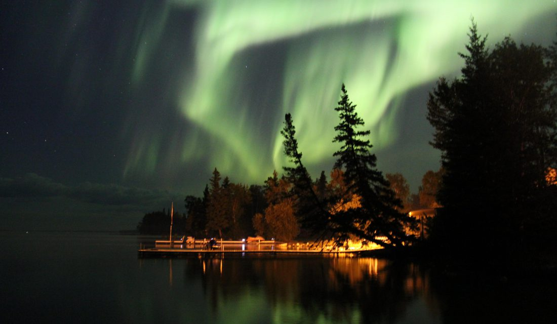 northern lights by dave simes