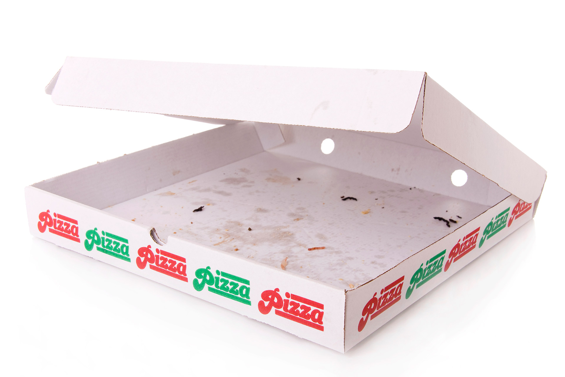 pizza box used