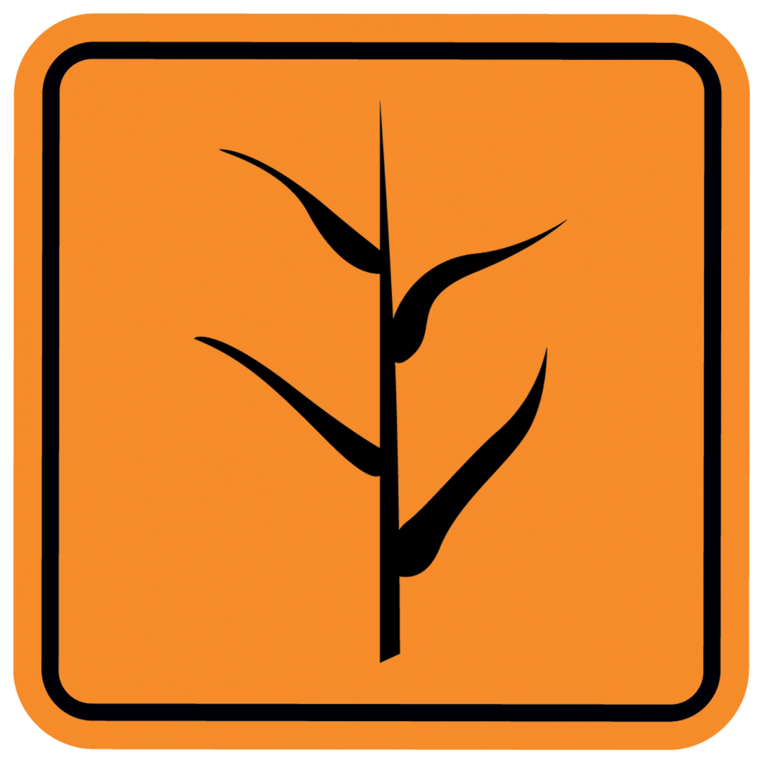 plant danger sign