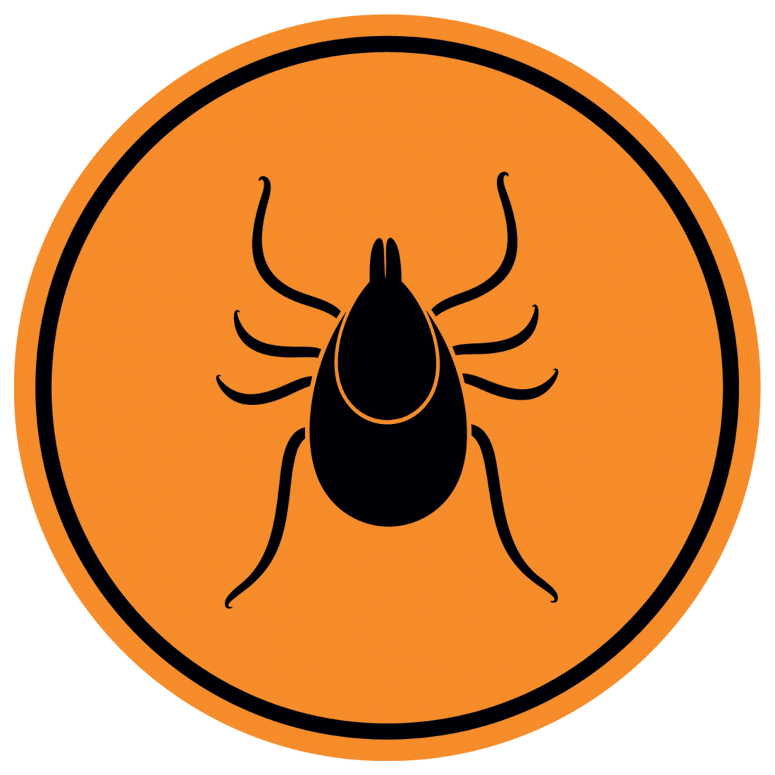 tick danger sign