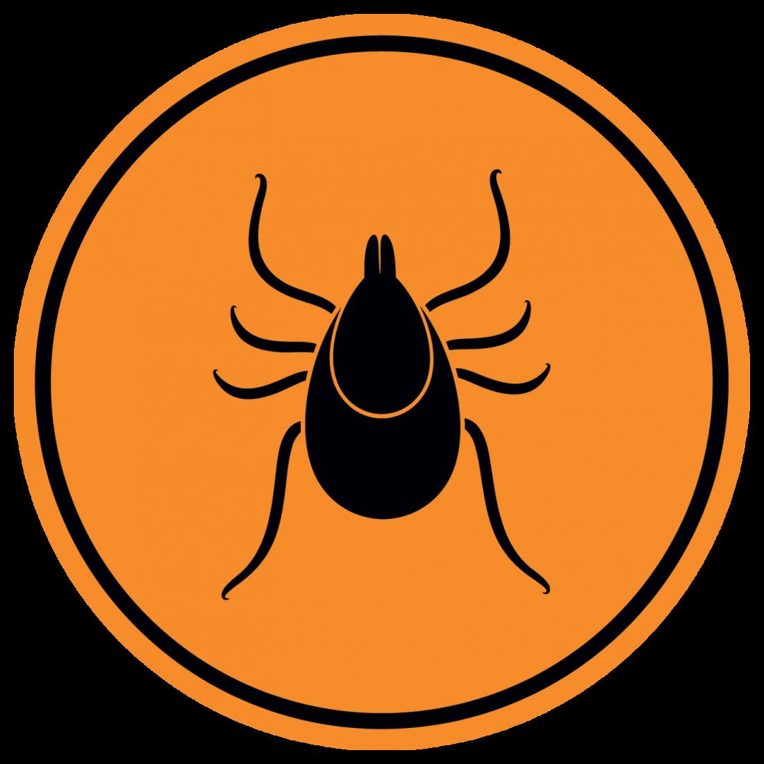 tick danger sign
