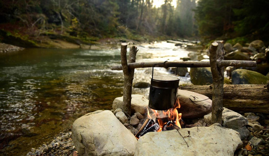 cookout campfire river
