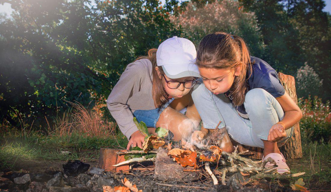 cookout girls campfire