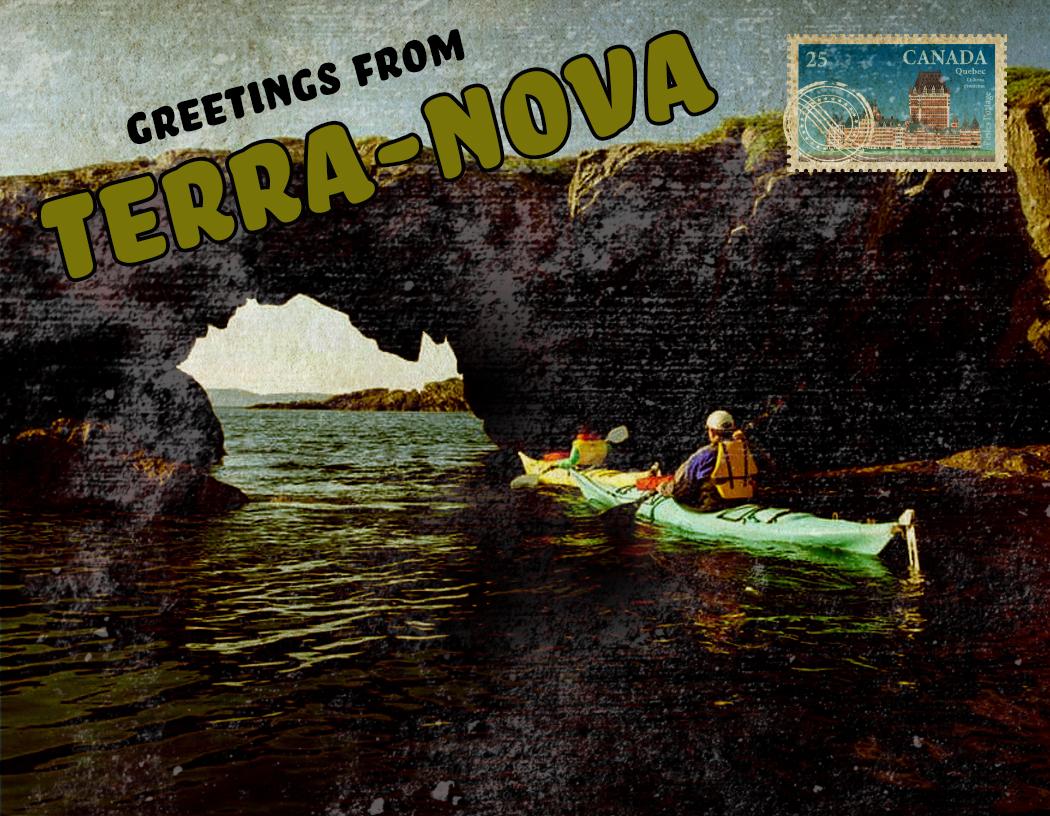 terra nova postcard