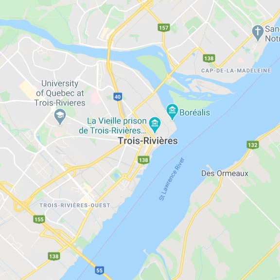trois rivieres map