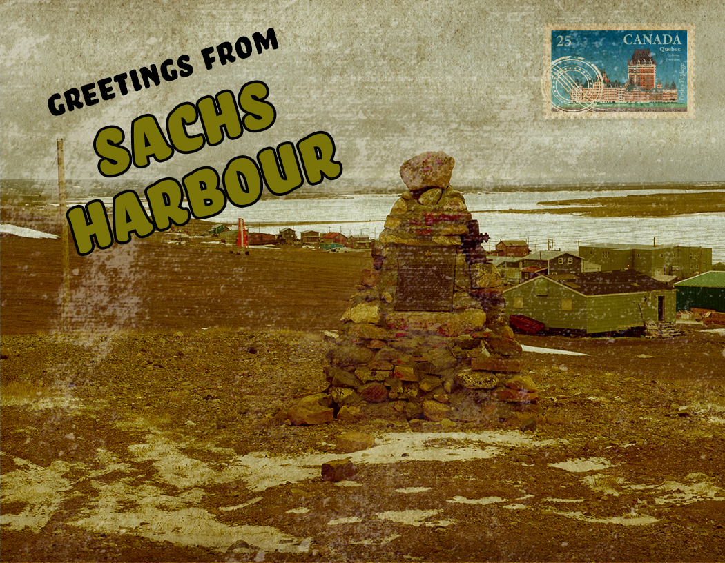 sachs harbour postcard